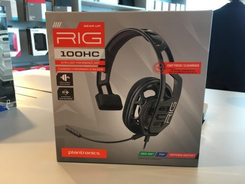 Audífonos para gamers RIG 100HC