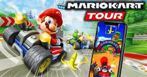 Modo multijugador en Mario Kart Tour
