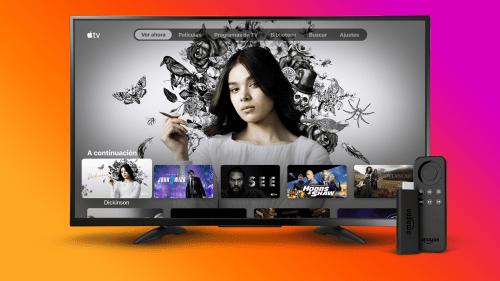 Fire TV Stick Apple TV Plus en México