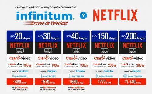 Infinitum y Netflix