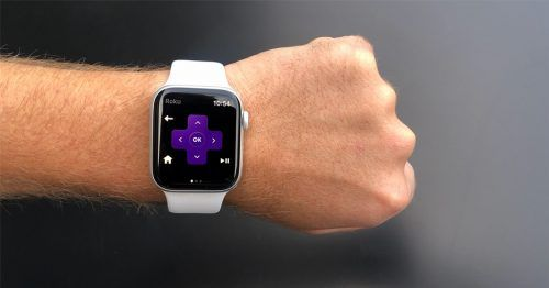 App de Roku para Apple Watch