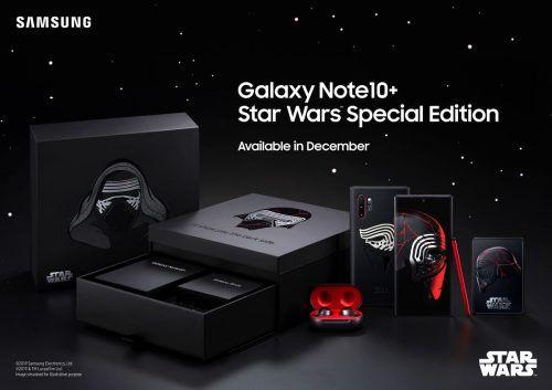 Samsung Galaxy Note 10 Plus de Star Wars