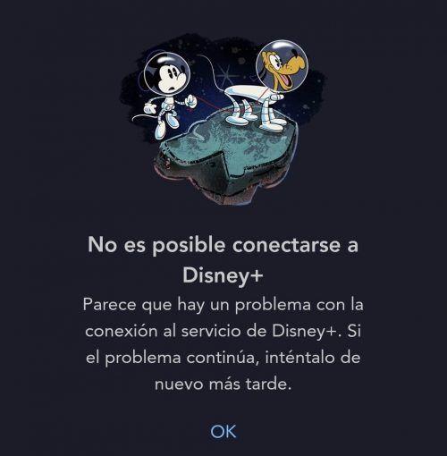 Fallas Disney Plus