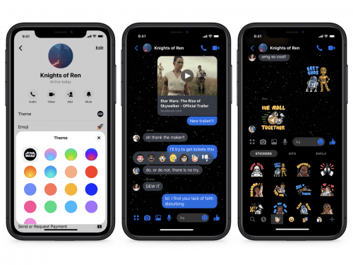 Star Wars en Messenger