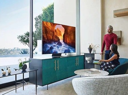 Samsung Smart TV sin marcos