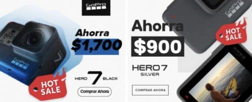 GoPro ofertas Hot Sale 2020