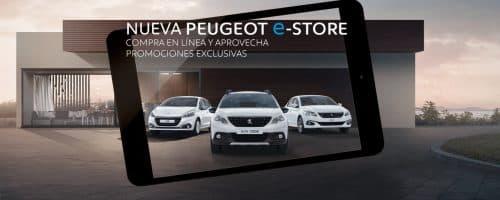tienda online de Peugeot