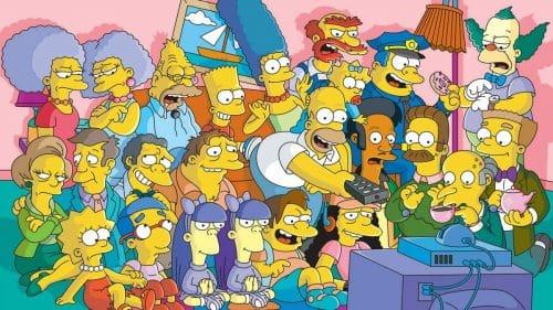 actores de Los Simpson