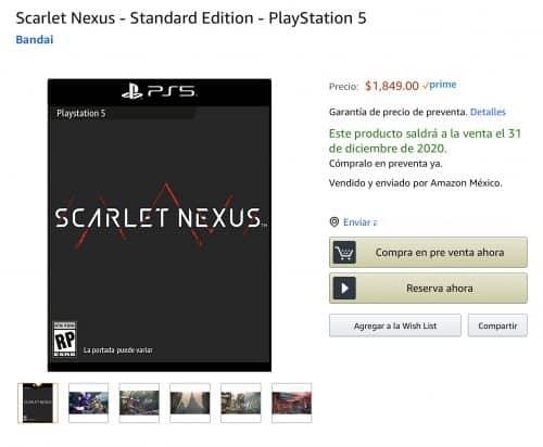 precios de los videojuegos para PS5 y Xbox Series X