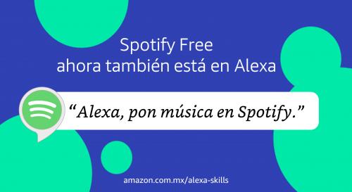 Spotify Free en Alexa