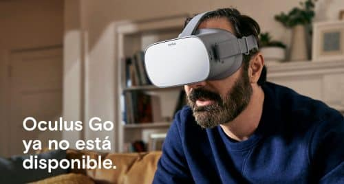Oculus Go de Facebook descontinuados
