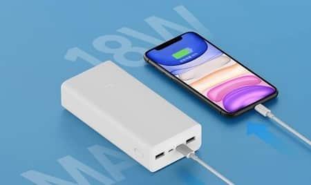 Batería externa de Xiaomi