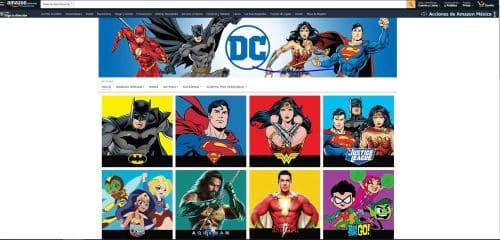 DC Comics en Amazon