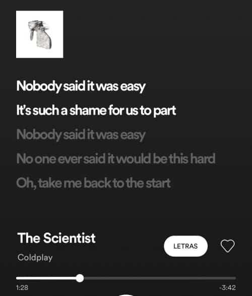 Letras de Spotify sincronizadas en tiempo real