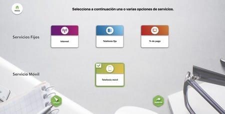 comparador de servicios electrónicos