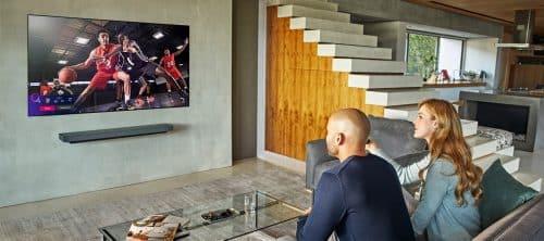 Televisor LG OLED deportes