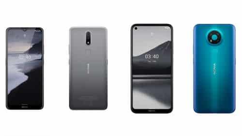 Nokia 2.3 y Nokia 3.4