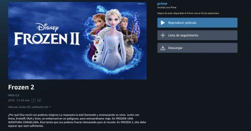 Disney en Prime Video