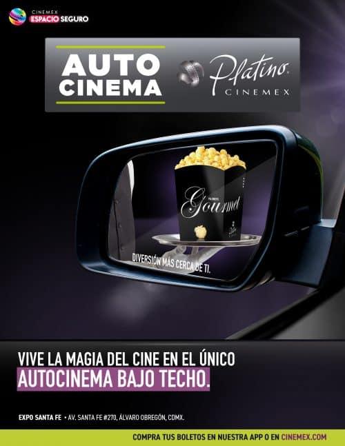 Autocinema Cinemex Platino