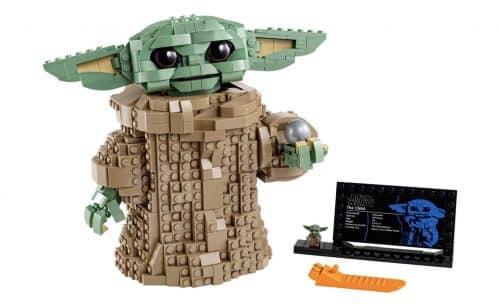Baby Yoda de LEGO