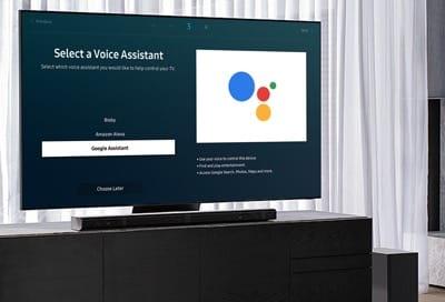 Google Assistant en televisores Samsung