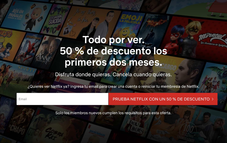 Periodo de prueba de Netflix gratis en México
