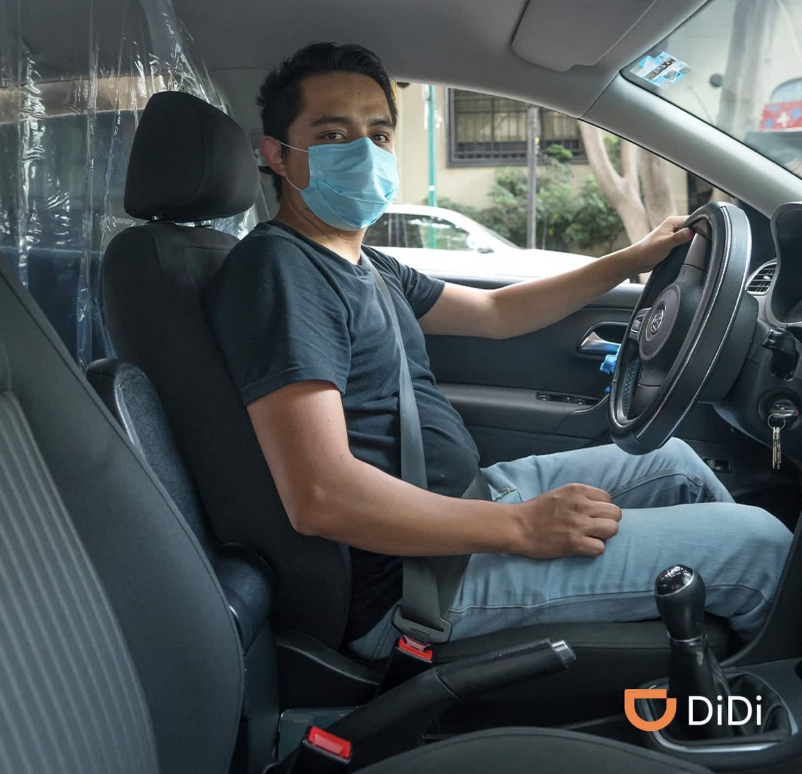 cámaras de seguridad en DiDi