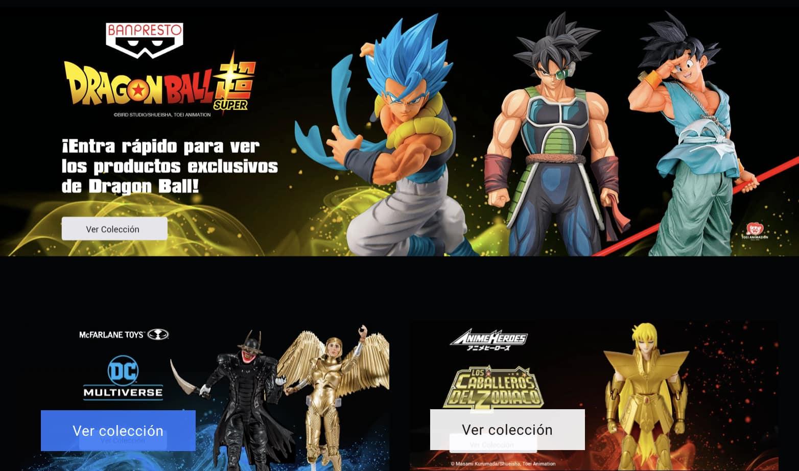 tienda de Bandai en México