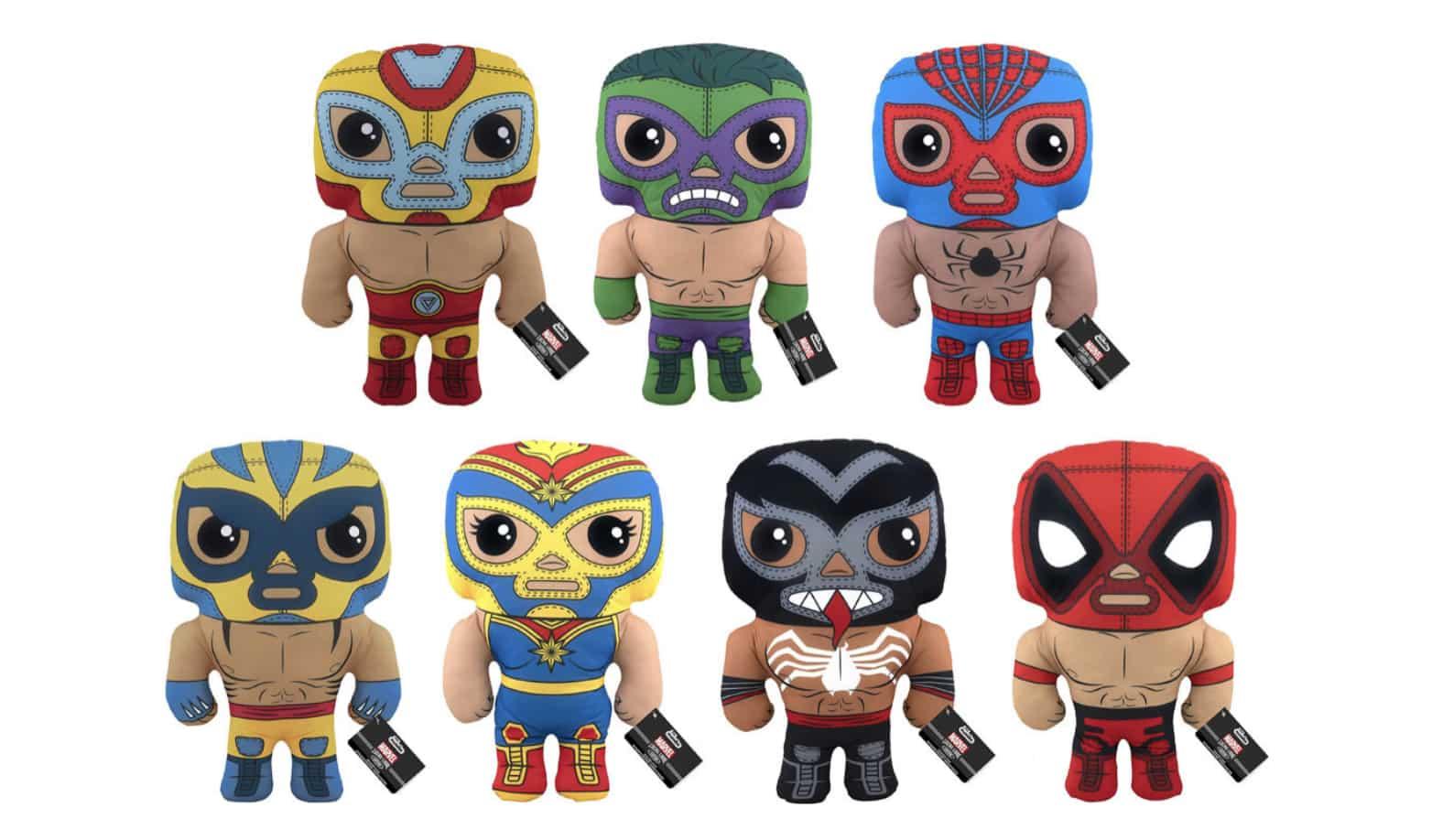 Funkos luchadores de Marvel