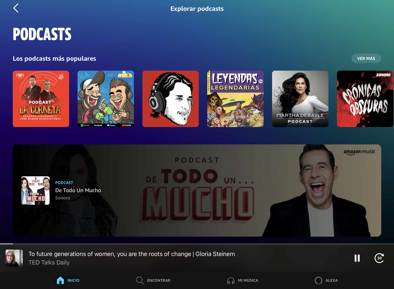 podcast en Amazon Music
