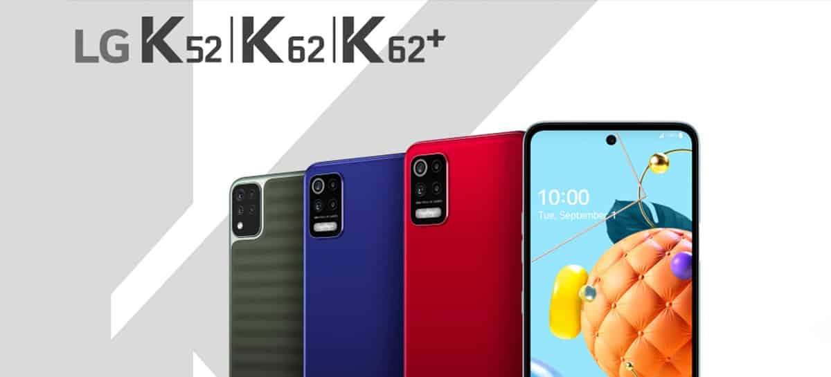 LG K62, LG K52 y LG K42 en México