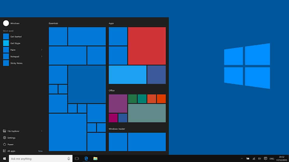 Apps de Android en Windows 10