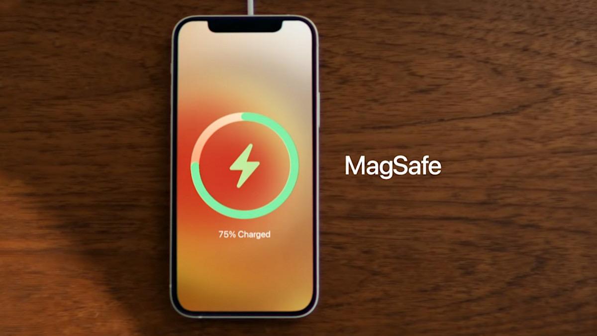 Cargar el iPhone 12 con MagSafe