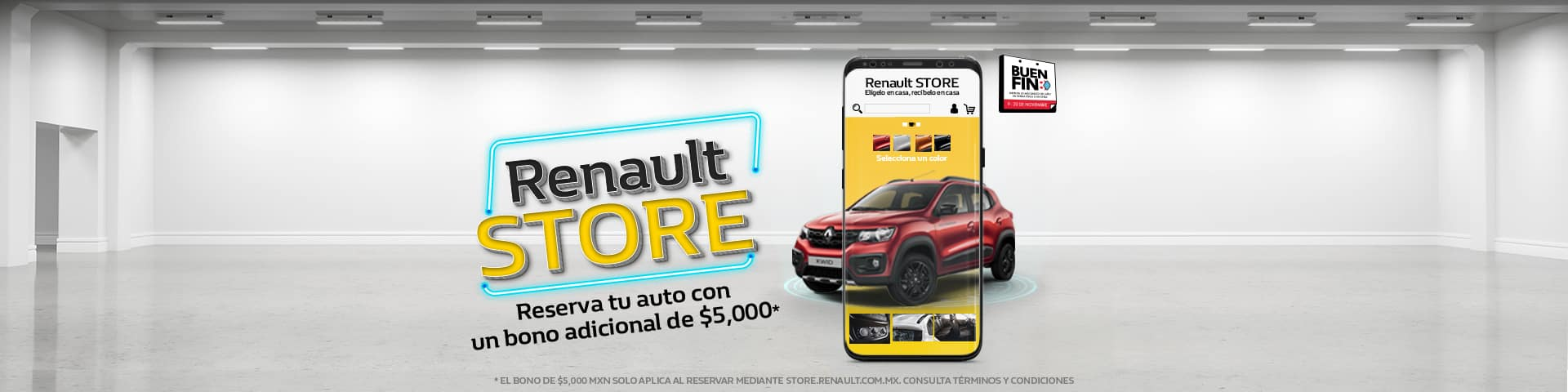 reservar un Renault en internet