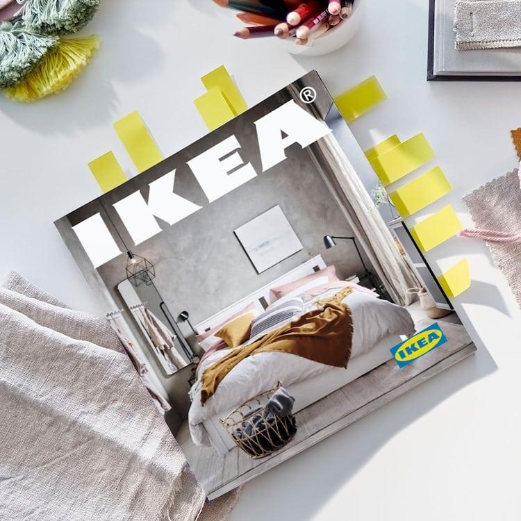 Catálogo impreso de IKEA