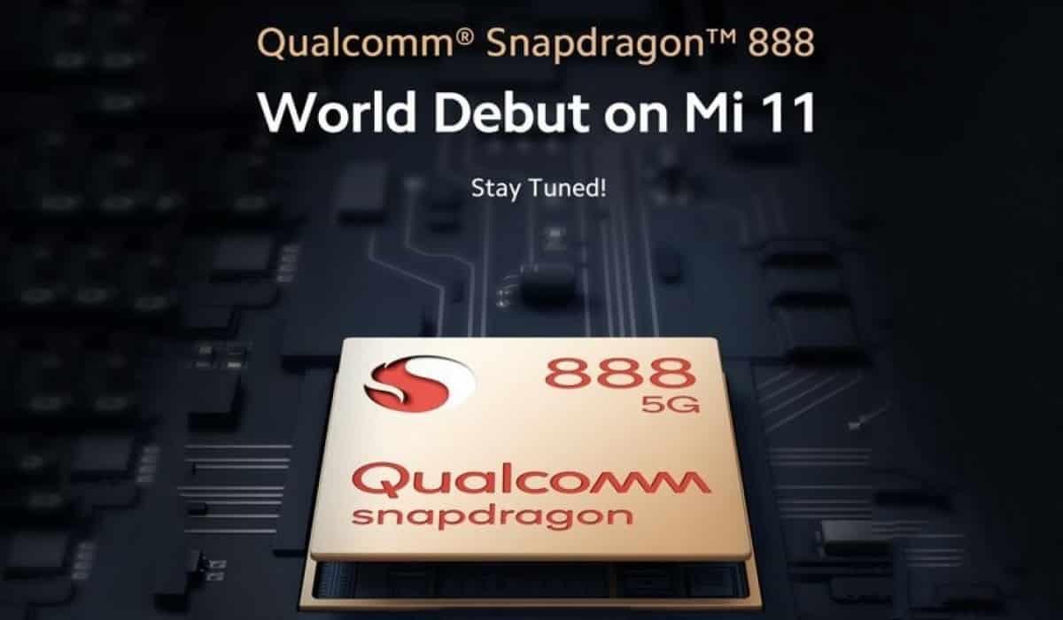 Xiaomi Mi 11 Qualcomm Snapdragon 888 5G
