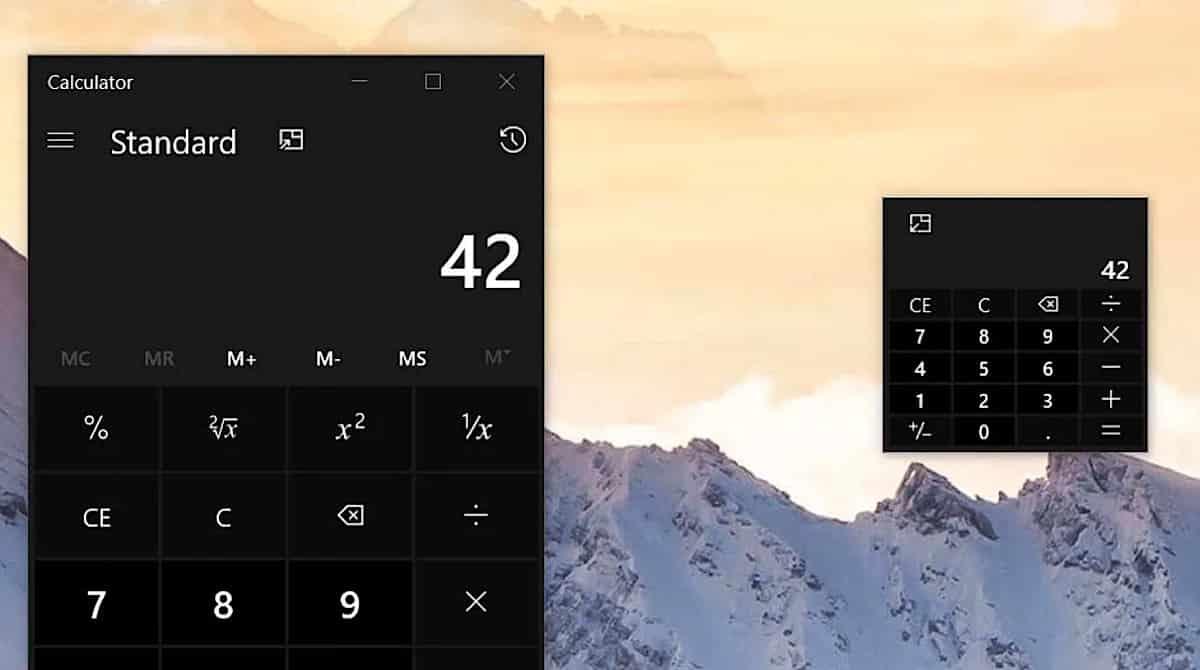 Cómo mantener la calculadora siempre visible