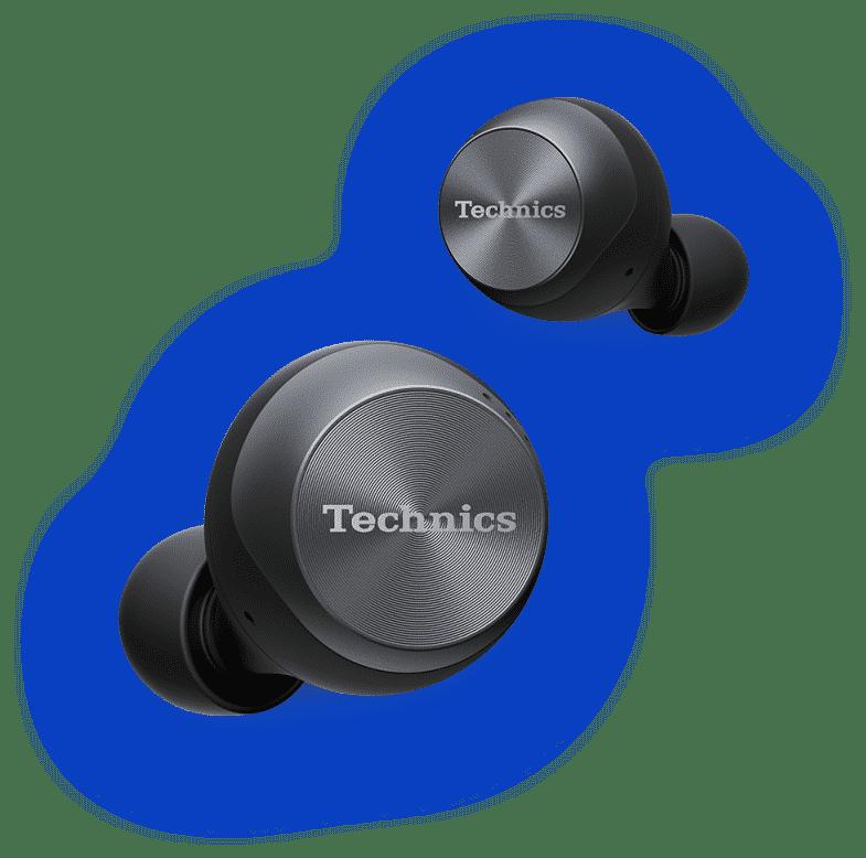 Audífonos inalámbricos Technics.