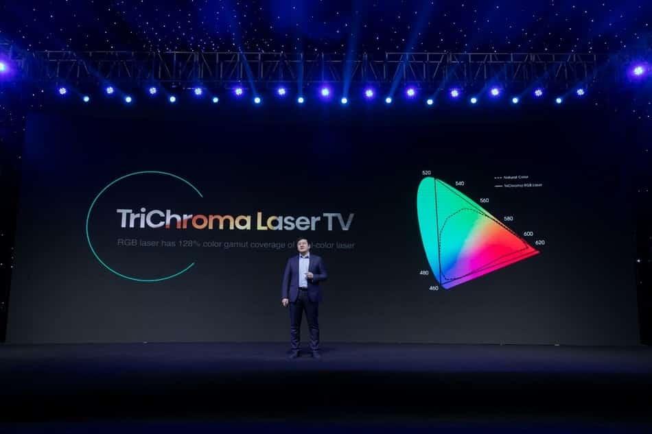 Hisense TriChroma Láser TV