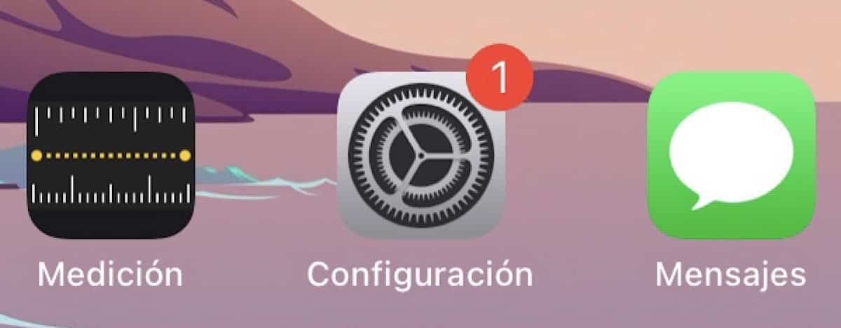 iPad Configuración