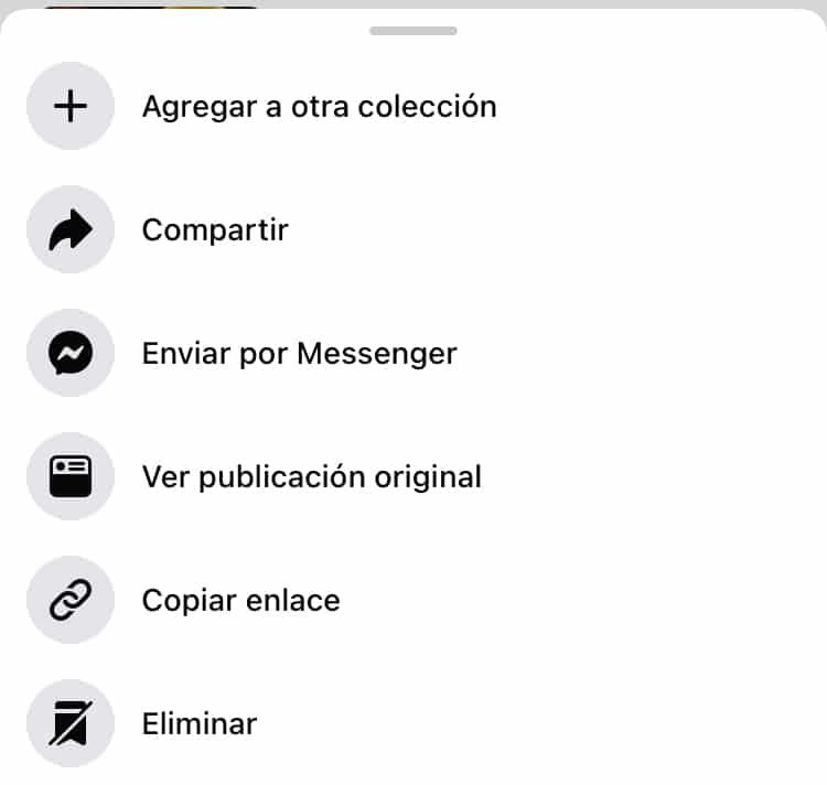 Cómo guardar una publicación de Facebook