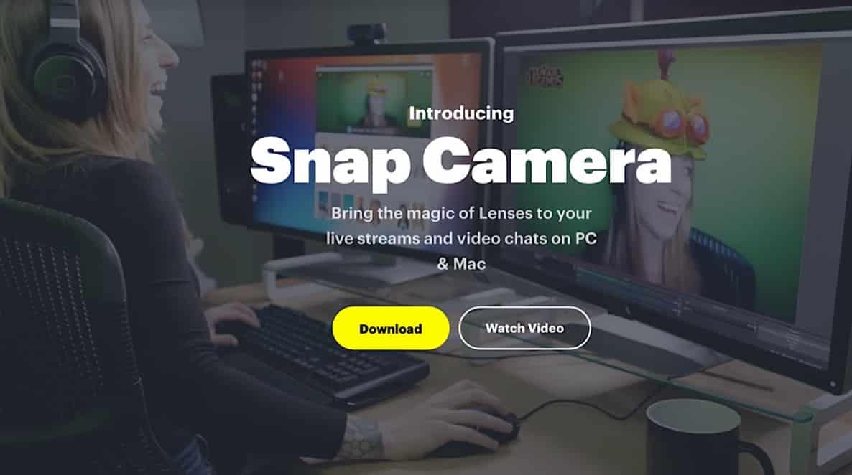 descargar Snap Camera