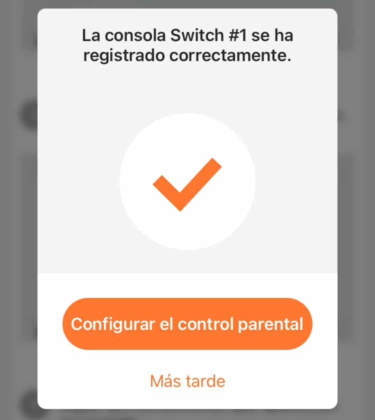control parental en nintendo switch
