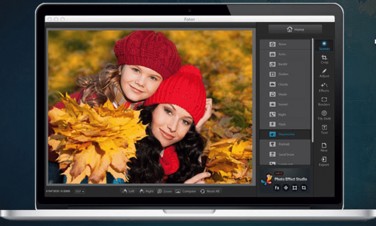 Fotor editor de fotos online