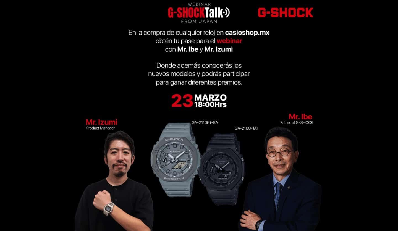webinar G-Shock Talk