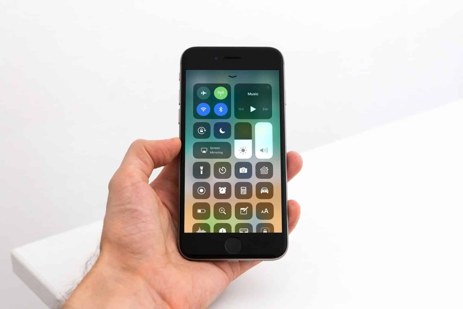 Cómo desactivar el centro de control del iPhone