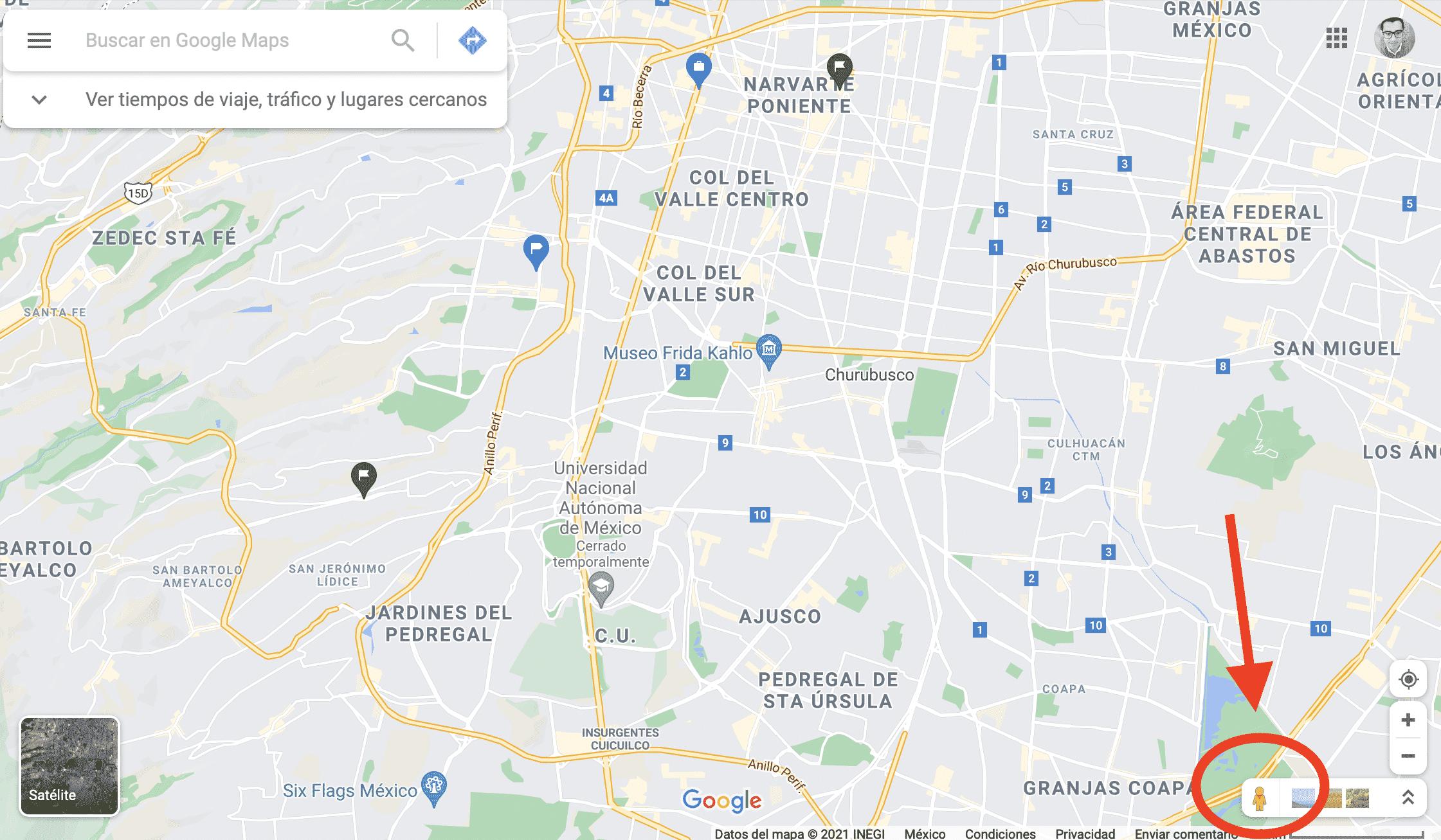 cómo ocultar mi casa en Google Maps